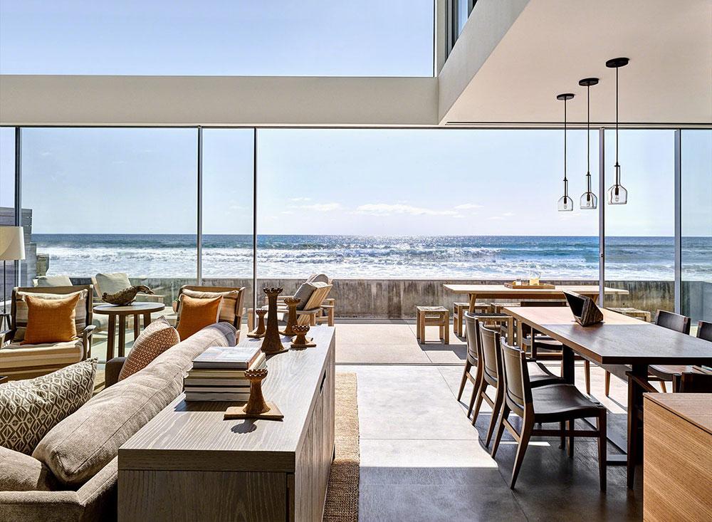 дом на пляже калифорния