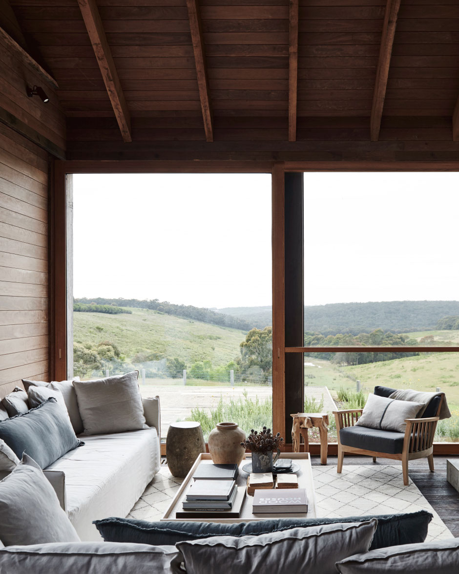 деревянный современный дом