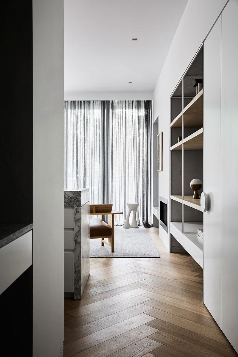 стильные интерьер квартиры в австралии