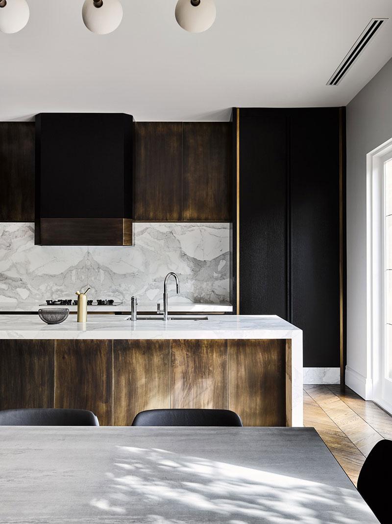 стильные современные кухни дизайн интерьер фото