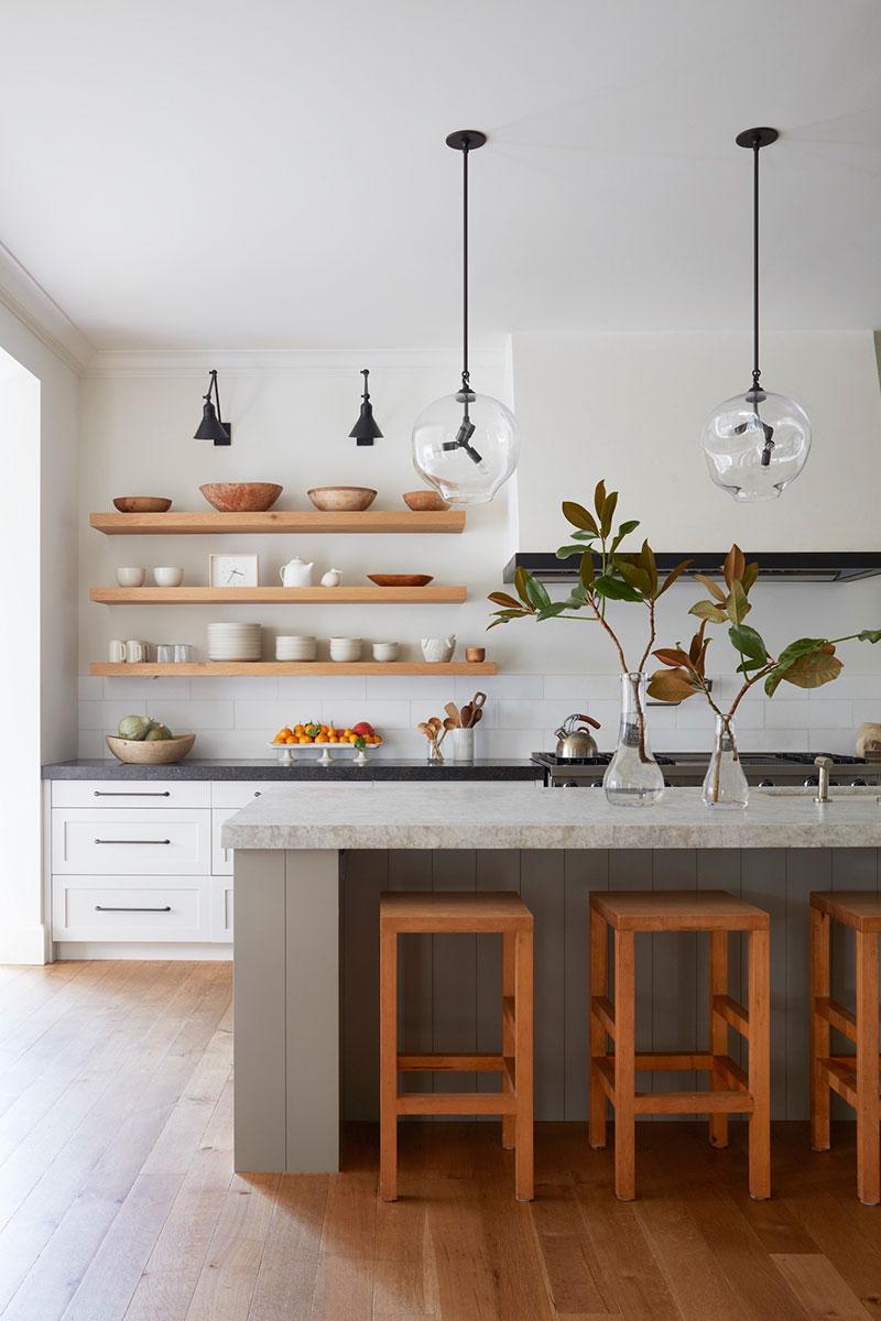 интерьер в американском стиле кухня