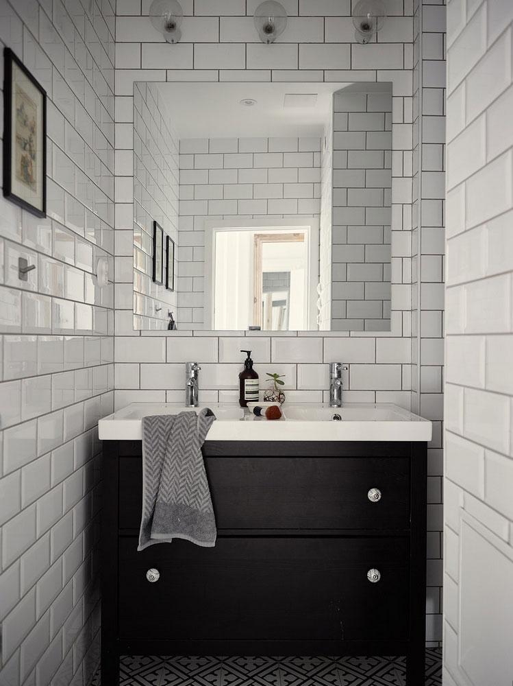 Скандинавская квартира с отдельной цветовой гаммой для каждой комнаты