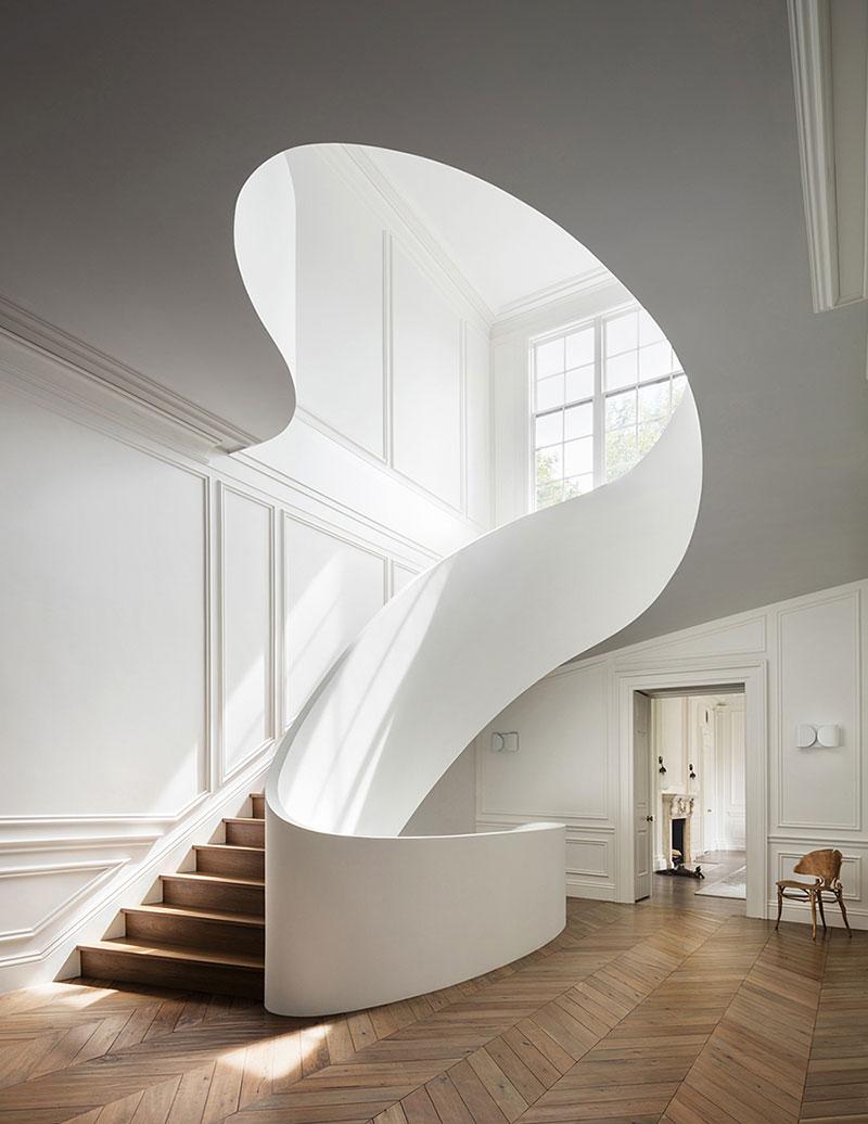 интерьер дома в стиле современная классика