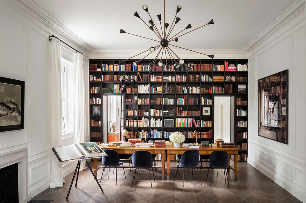 дизайн интерьера в стиле современная классика в частных домах