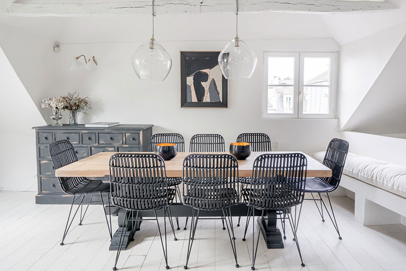 дизайн квартиры мансардного типа