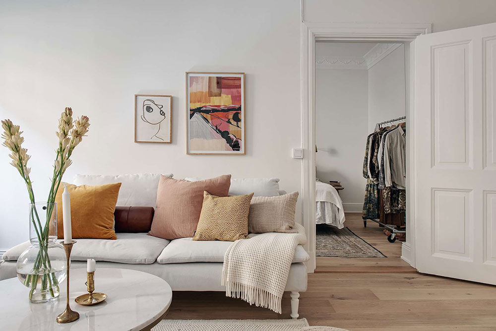 белые квартиры швеция
