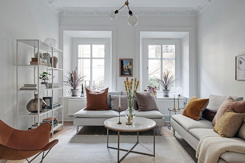 белые квартиры в швеции