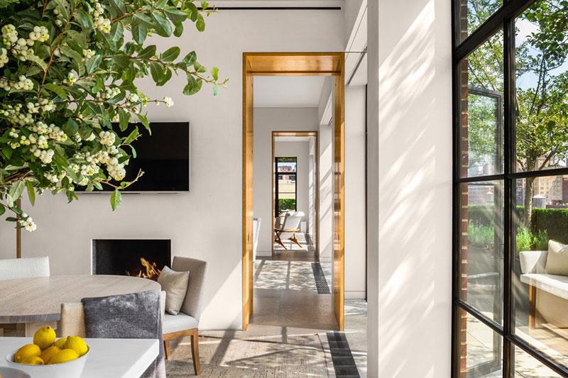 интерьер апартаментов в стиле лофт