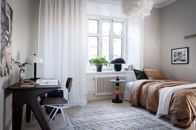 белая квартира интерьер