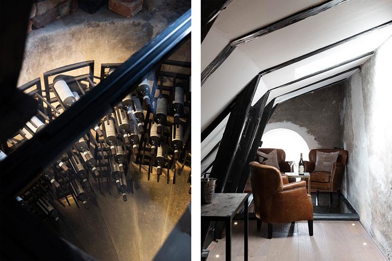 Класс! Большая мансардная квартира с тёмными акцентами в Стокгольме (240 кв.м)
