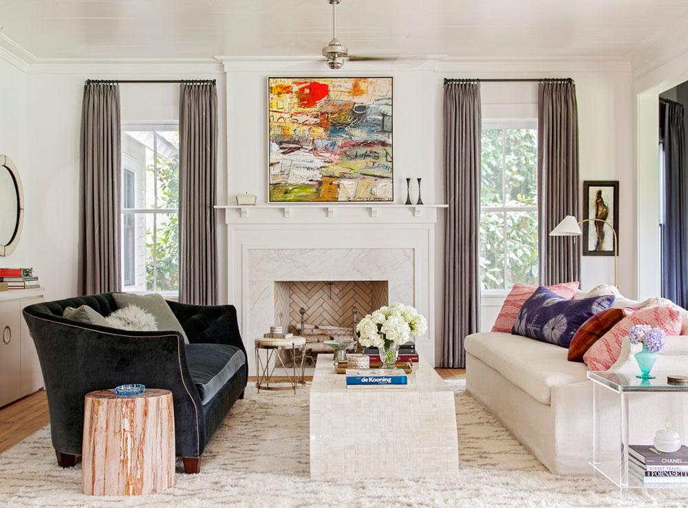 яркие интерьеры домов