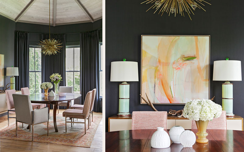 интерьер для дома ярких цветов