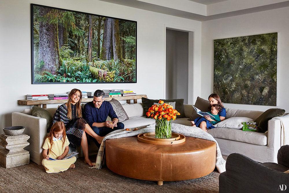 интерьер дома в лос анджелесе