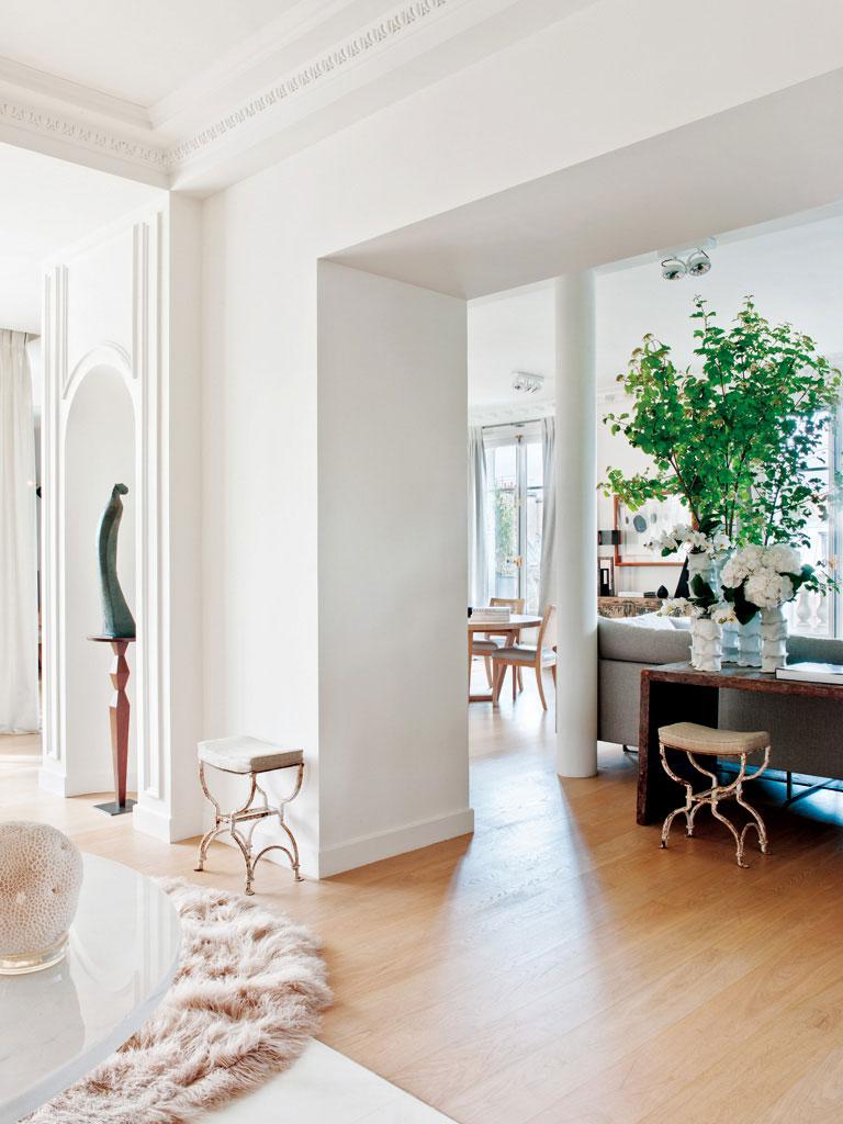 интерьеры в парижском стиле