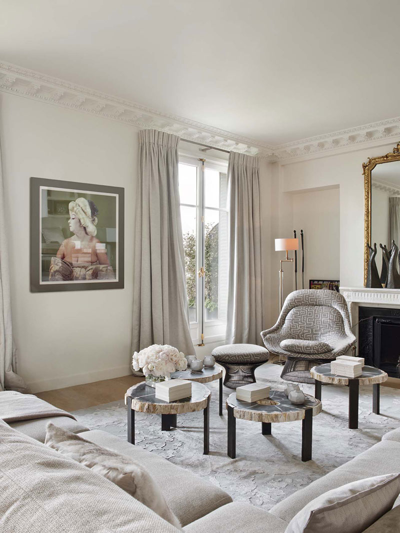интерьер парижский стиль