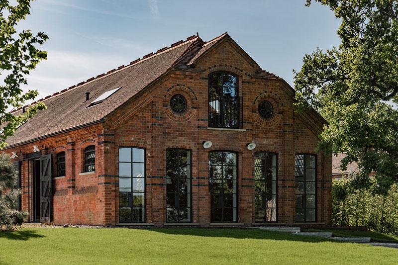 частные дома индустриальном стиле