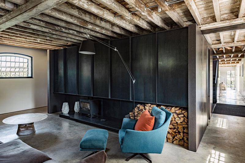проекты домов индустриального стиля