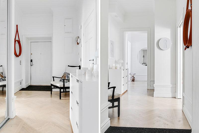 Класс! Элегантный скандинавский интерьер в легких пастельных тонах в Стокгольме
