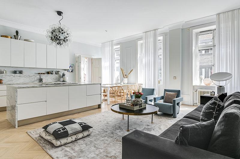 дизайн квартиры в пастельных тонах фото