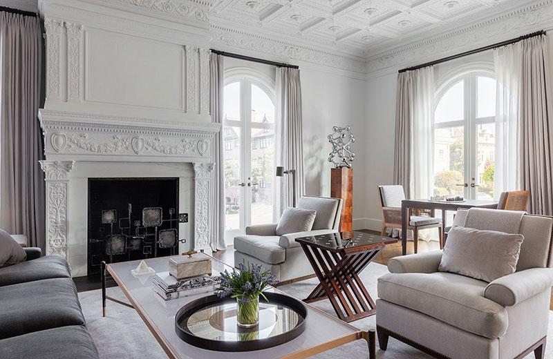 интерьер дом в американском стиле