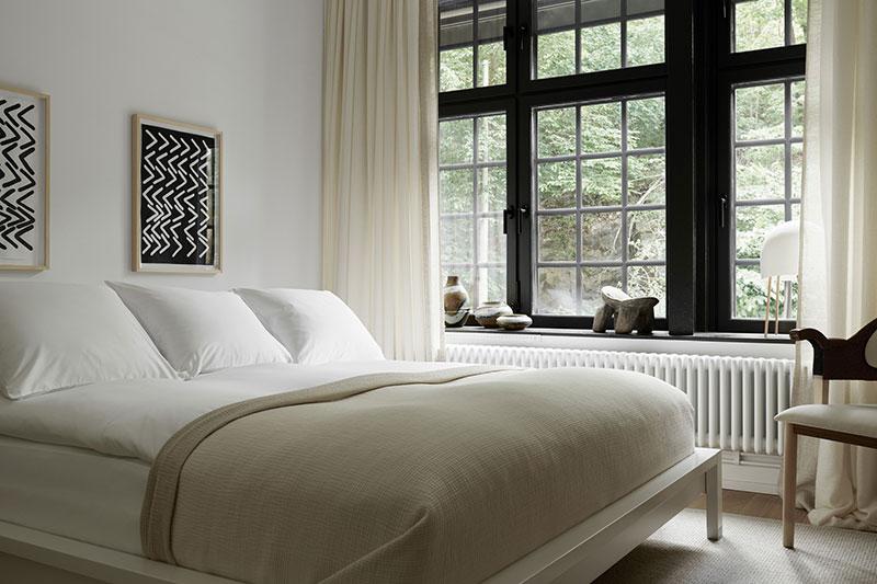 дизайн спальни в скандинавском стиле фото 2019 современные