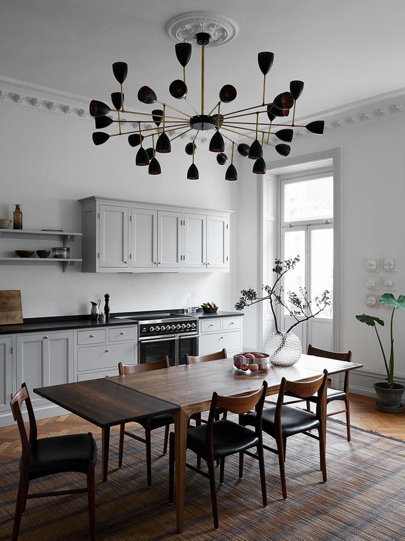 скандинавский современный стиль кухня
