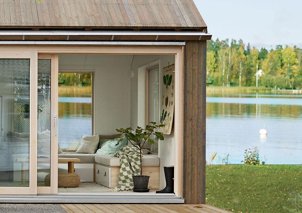 Класс! Милый домик у озера площадью всего 25 кв. м