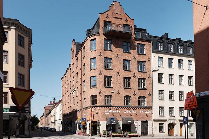 шведский интерьер квартиры