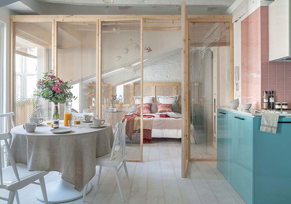 Класс! Очаровательная мансардная квартира для девушки в Испании (45 кв. м)