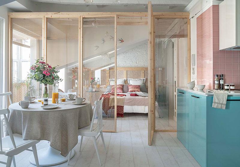 квартиры мансардного типа дизайн