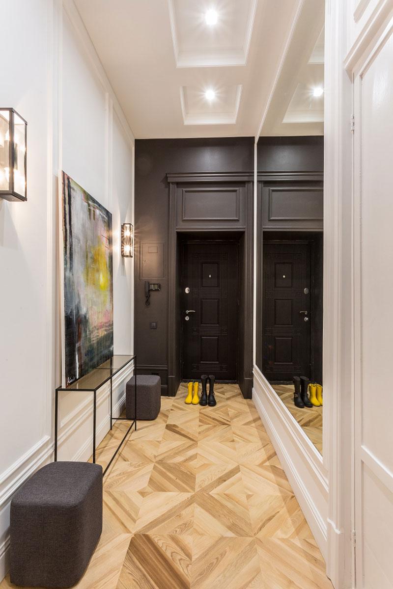 интерьеры квартир с антресолями