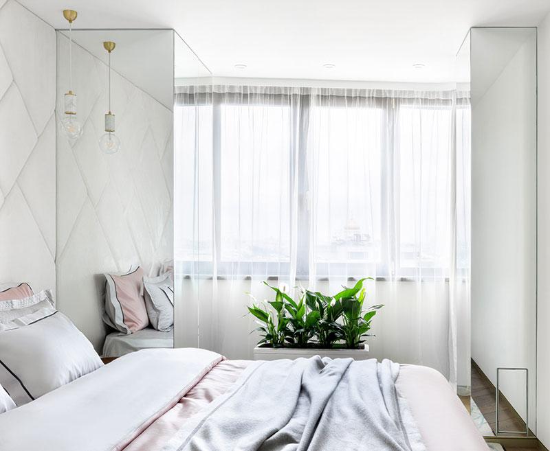 интерьер белая квартира