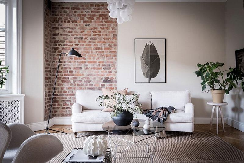 дизайн интерьер квартиры в скандинавском стиле