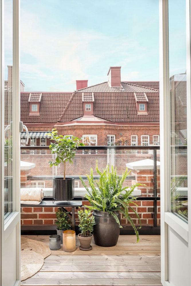 скандинавский стиль интерьера однокомнатной квартиры