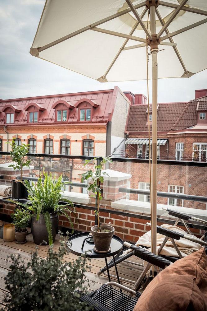интерьер маленькой квартиры скандинавском стиле