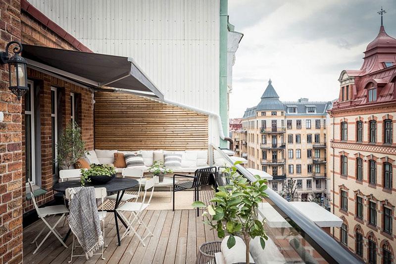скандинавские стиль в интерьере маленьких квартир