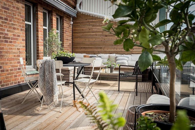 скандинавские интерьеры однокомнатных квартир