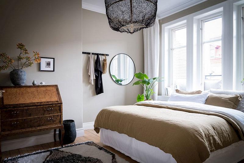 интерьеры однокомнатных квартир в скандинавском стиле