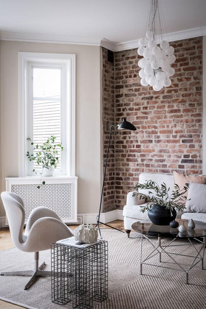 дизайн интерьера квартир фото скандинавский