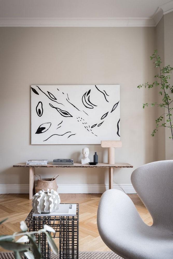 скандинавский интерьер в маленьких квартирах