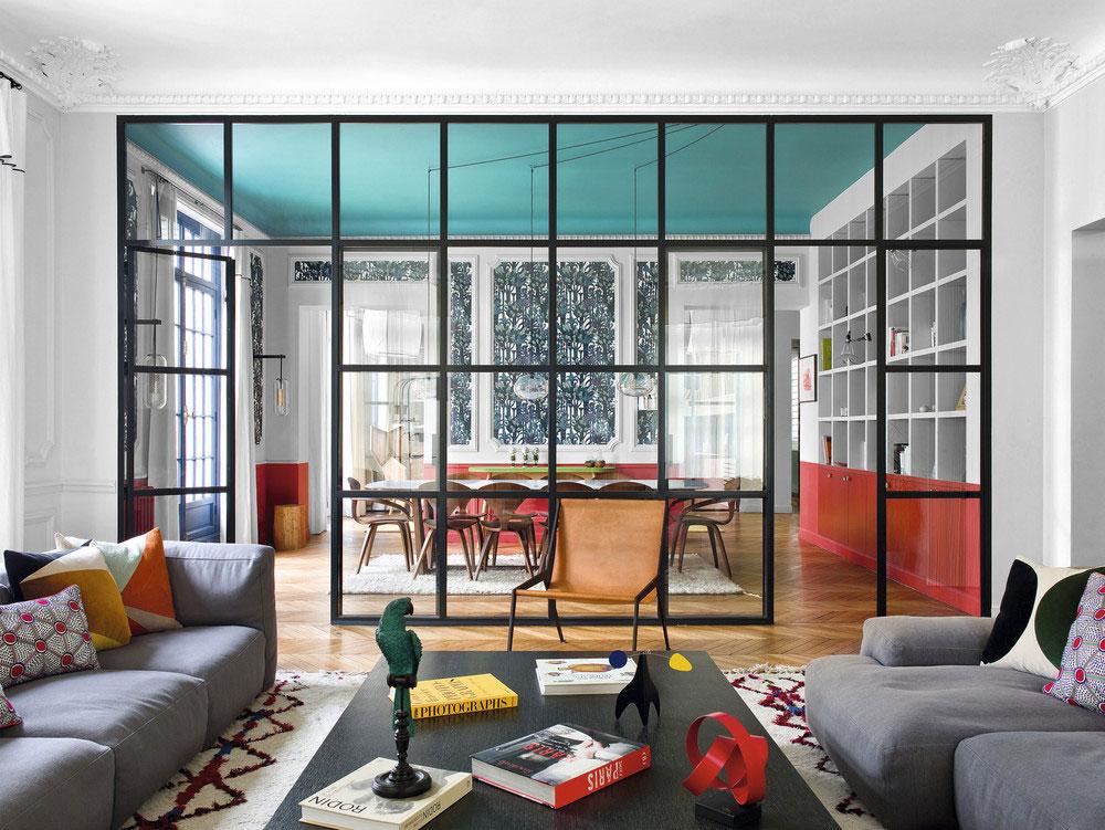 Класс! Парижская эклектика во всей своей красоте: яркая квартира для семьи в старом доме