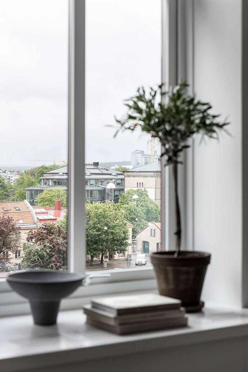 дизайн квартиры в черно белом цвете фото