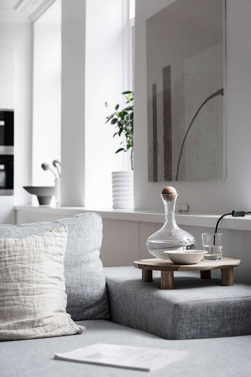 дизайн квартир в белом цвете фото