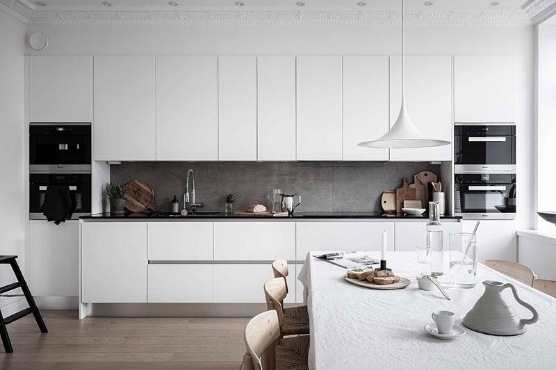 дизайн квартир фото в белом цвете