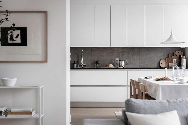 дизайн квартиры фото в белом цвете