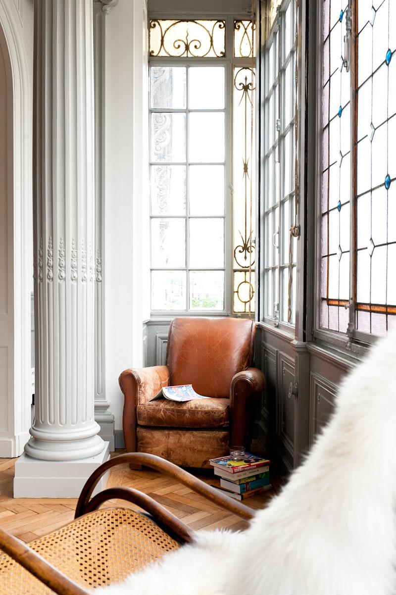 современный французский стиль в квартире