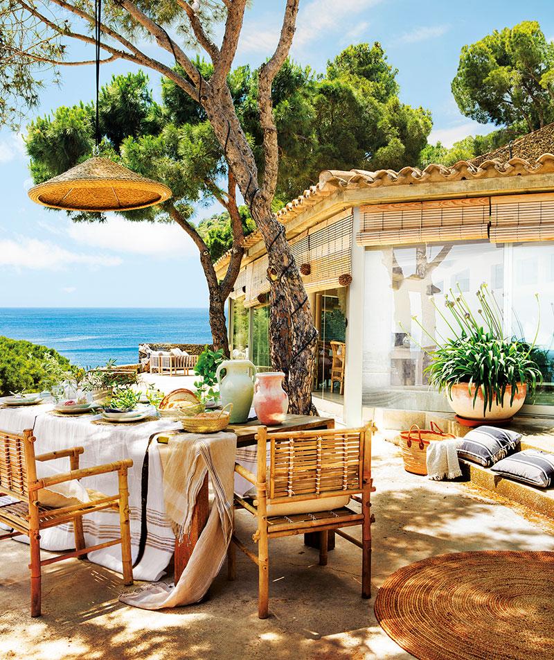 домик в испании у моря