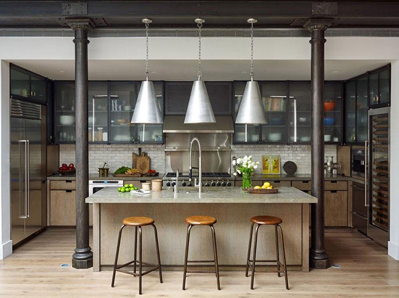 кухня в американском современном стиле