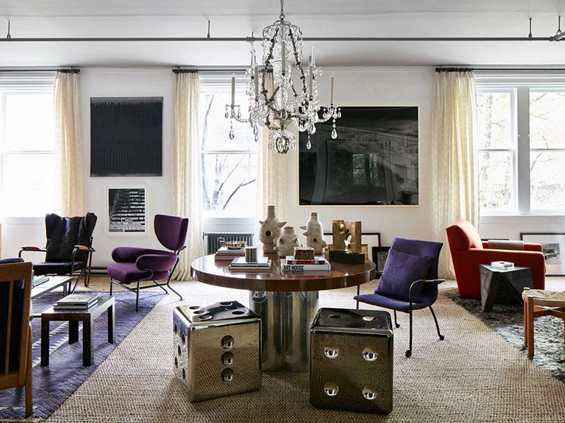 комоды в гостиную в современном американском стиле