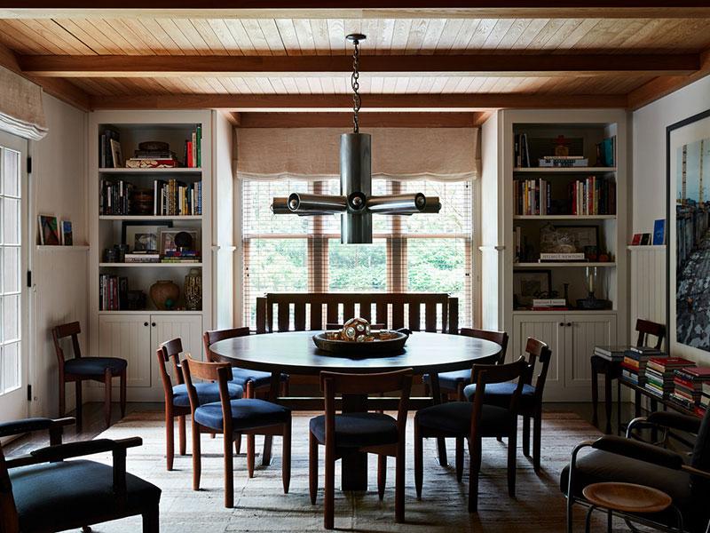 современный американский стиль в интерьере квартиры